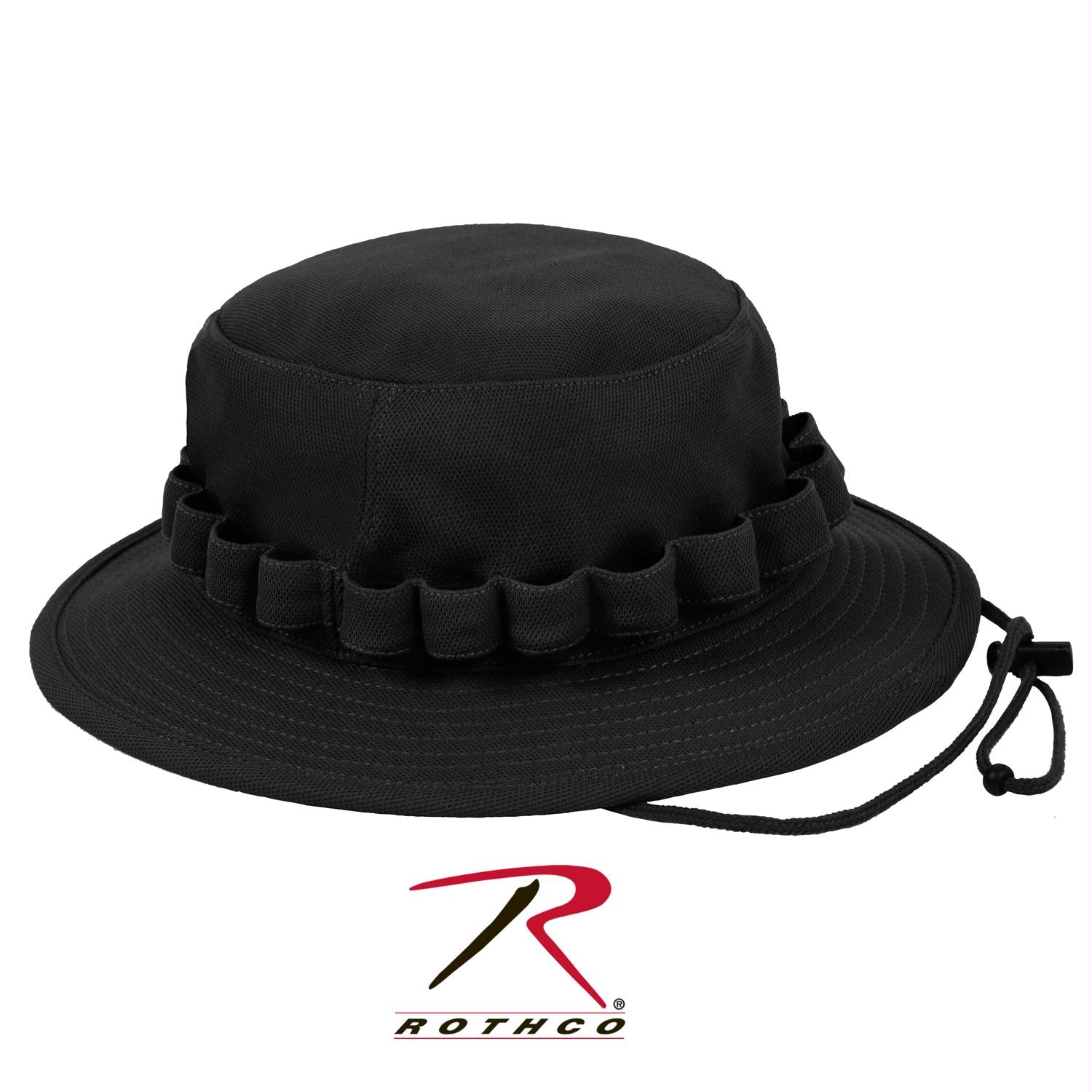 Rothco Coolweight Boonie Hat - Black / S/M