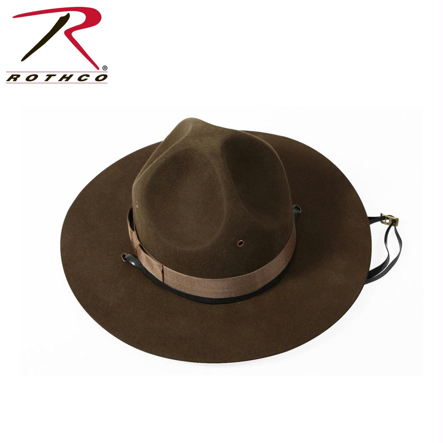 Rothco Military Campaign Hat - 7 5/8