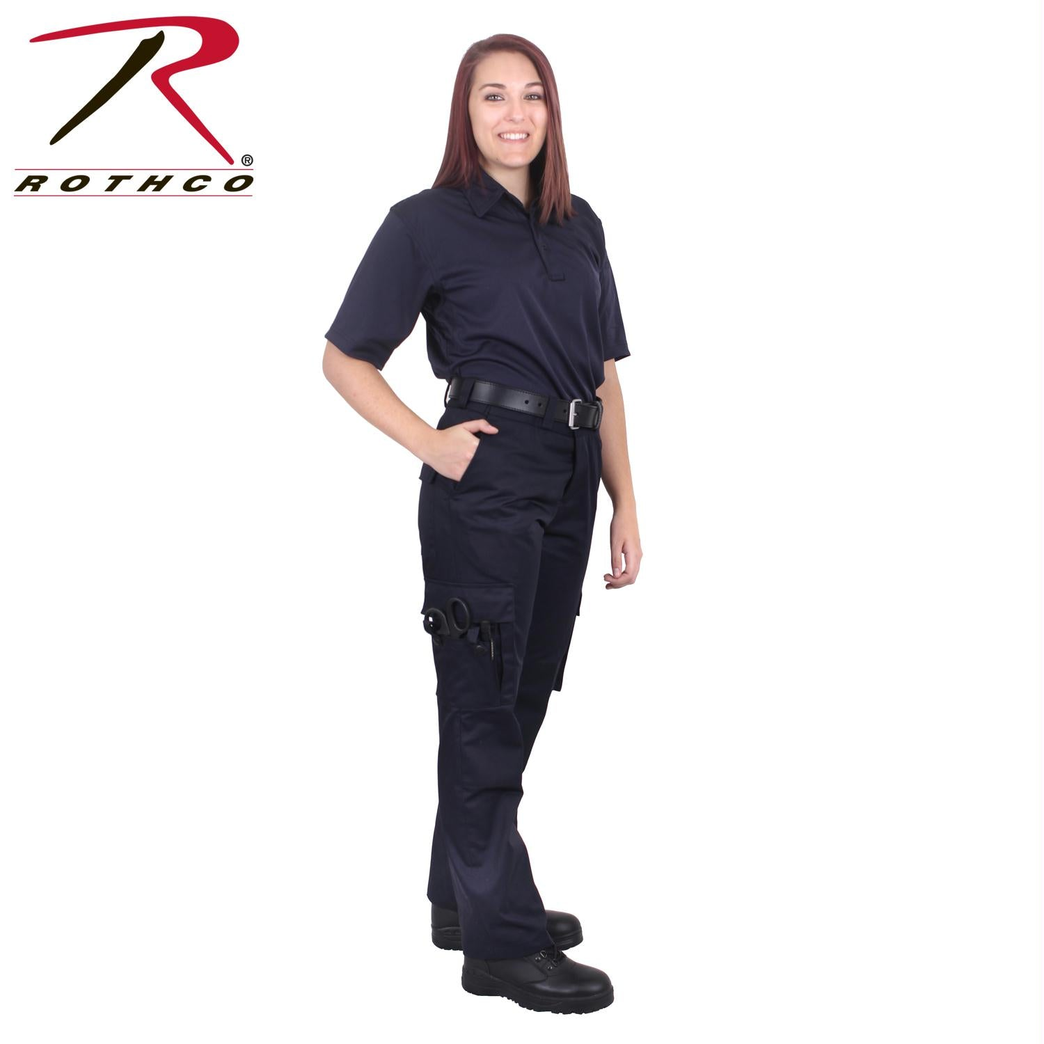 Rothco Women's EMT Pants - Midnight Navy Blue / 16
