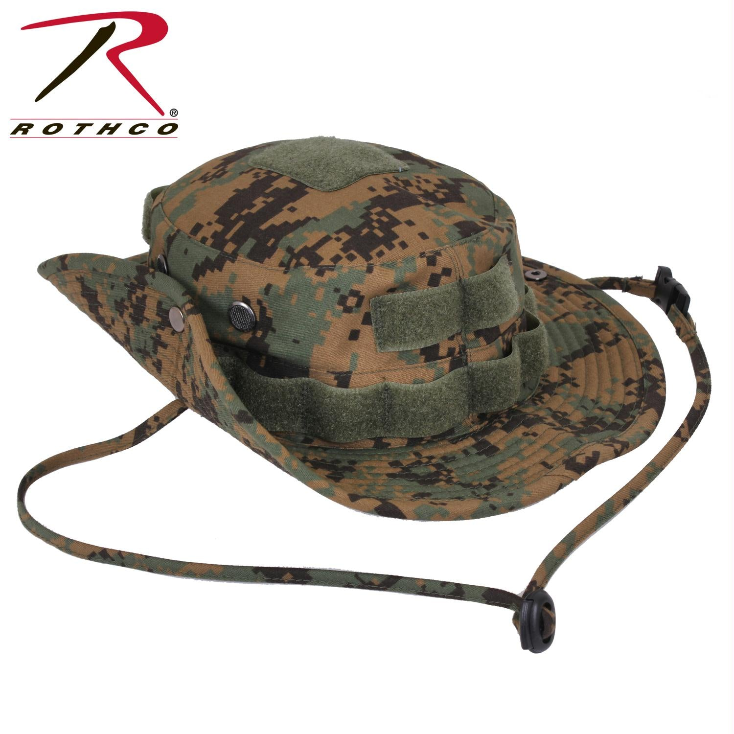 Rothco Tactical Boonie Hat - Woodland Digital Camo / 7 1/4