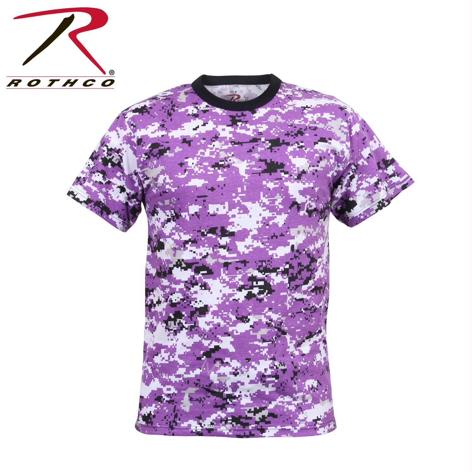 Rothco Digital Camo T-Shirt - Ultra Violet Digital Camo / 2XL