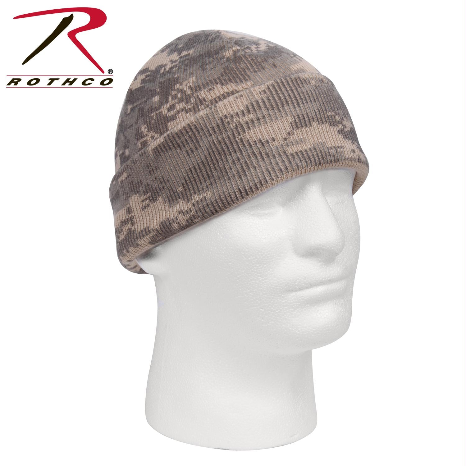 Rothco Deluxe Camo Watch Cap - ACU Digital Camo