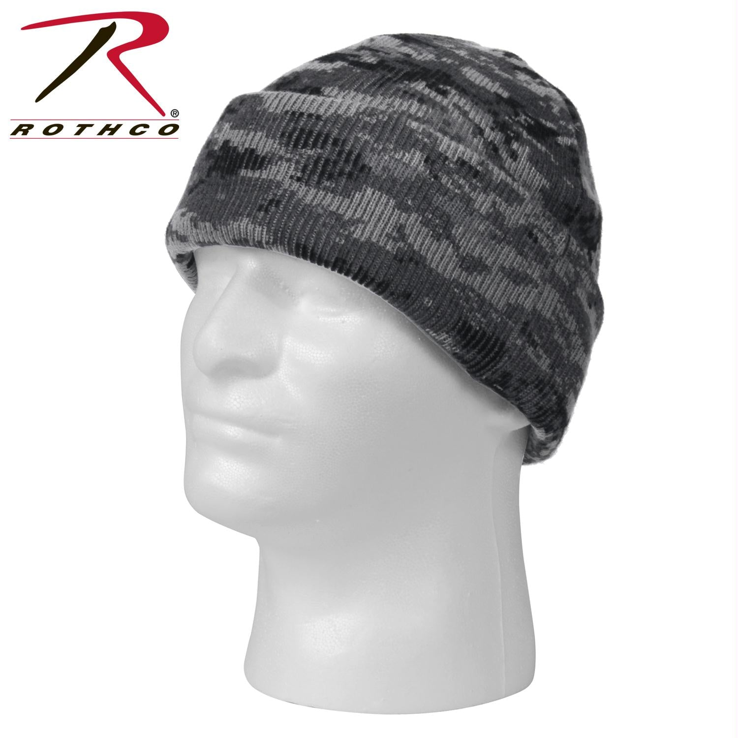 Rothco Deluxe Camo Watch Cap - Subdued Urban Digital Camo