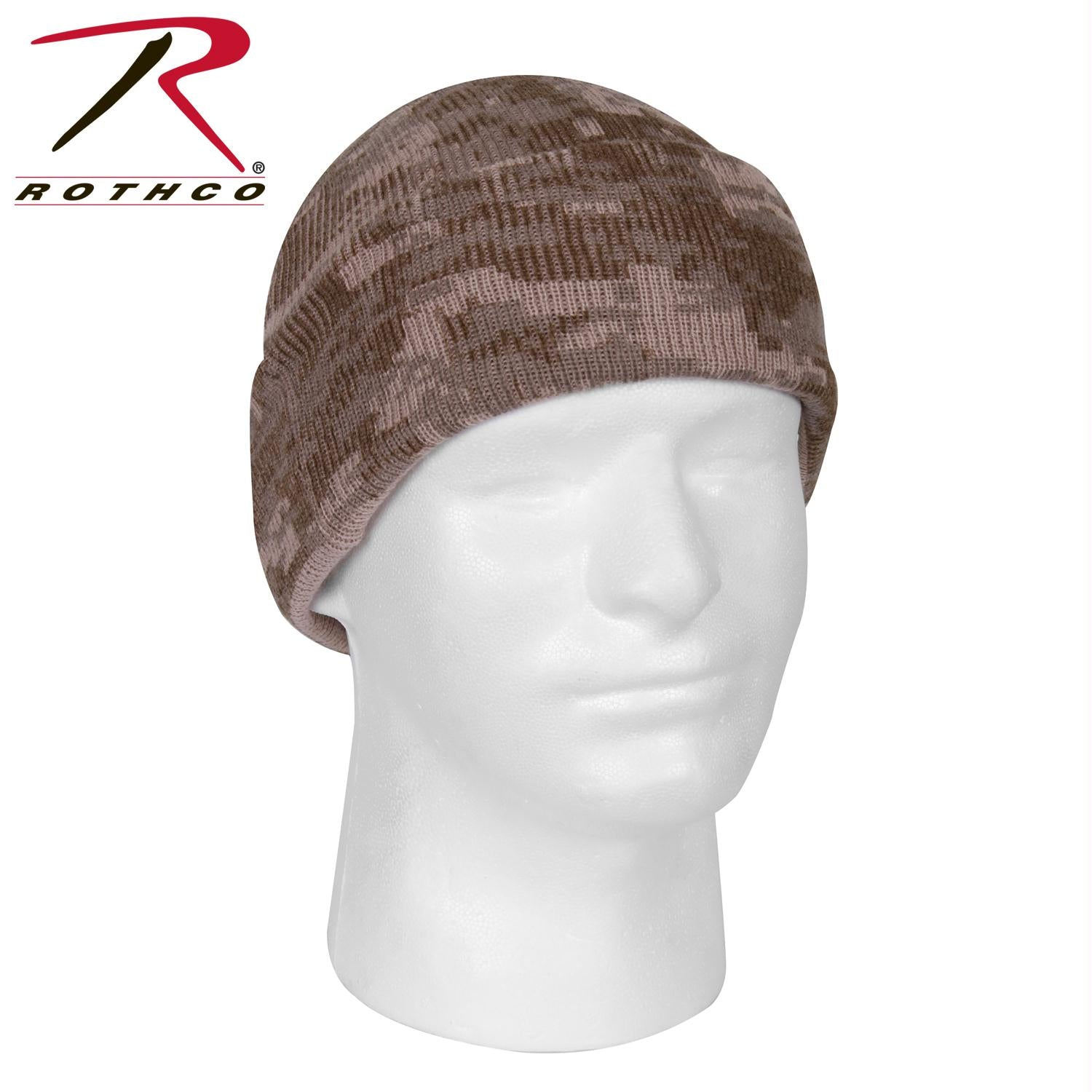 Rothco Deluxe Camo Watch Cap - Desert Digital Camo