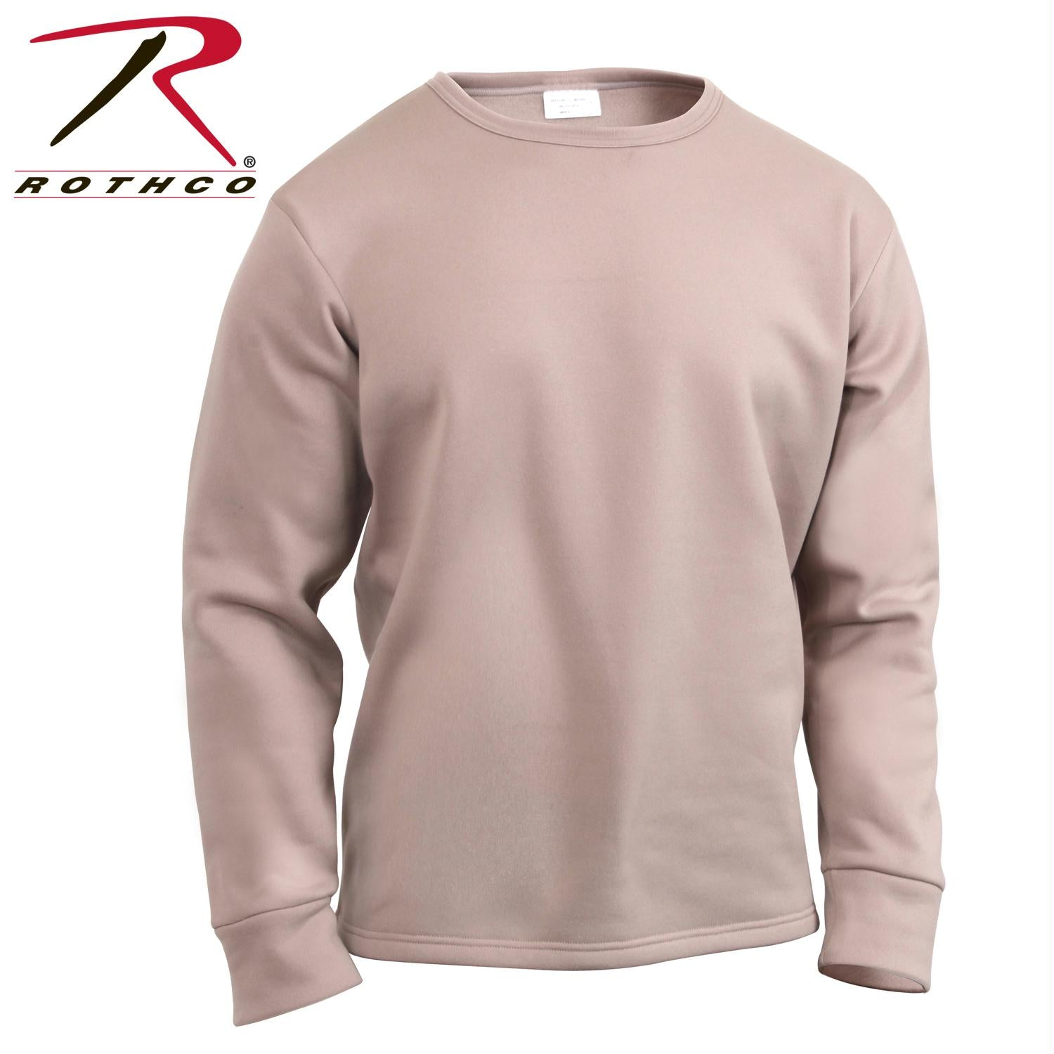Rothco ECWCS Poly Crew Neck Top - Desert Sand / XL