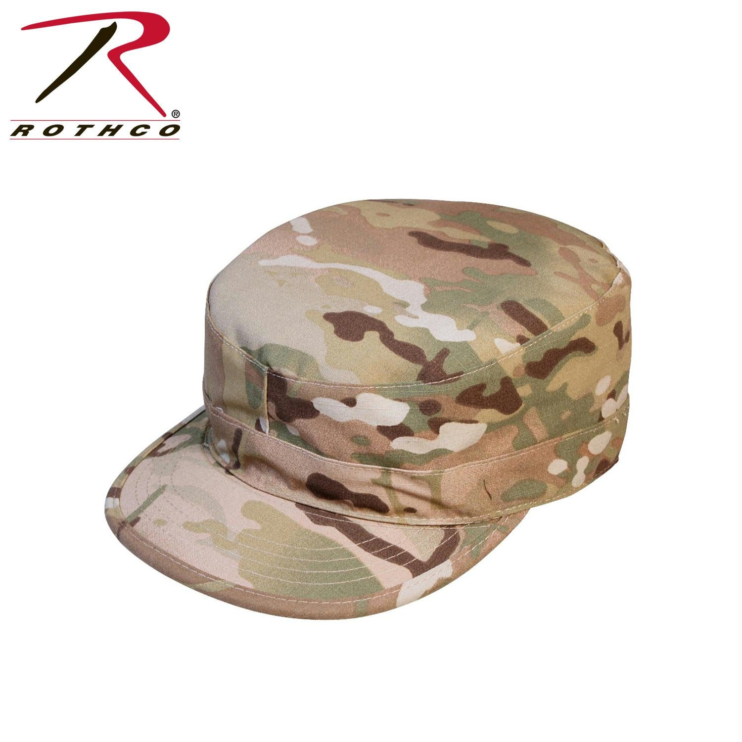 Rothco Gov't Spec 2 Ply Multicam Army Ranger Fatigue Cap - 7 1/4