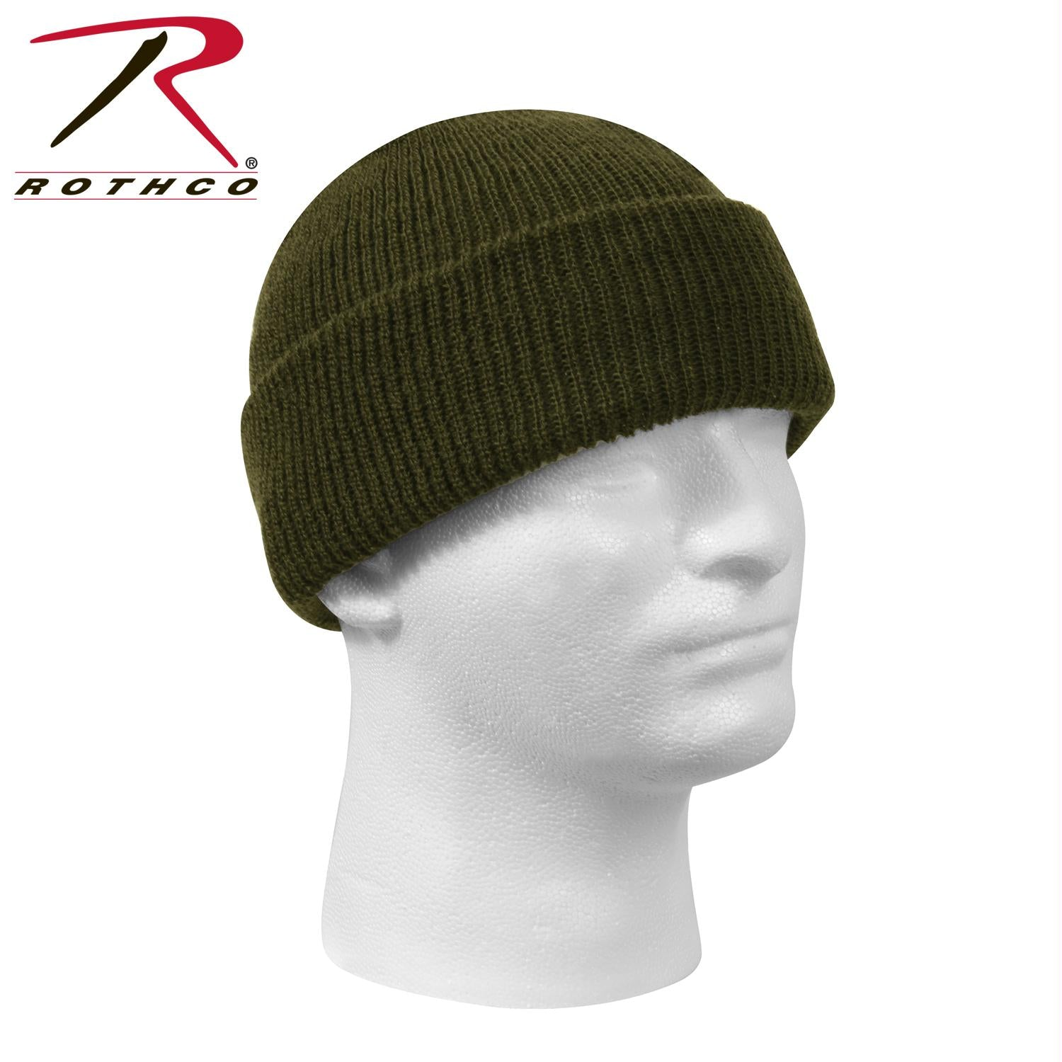 Genuine G.I. Wool Watch Cap - Olive Drab