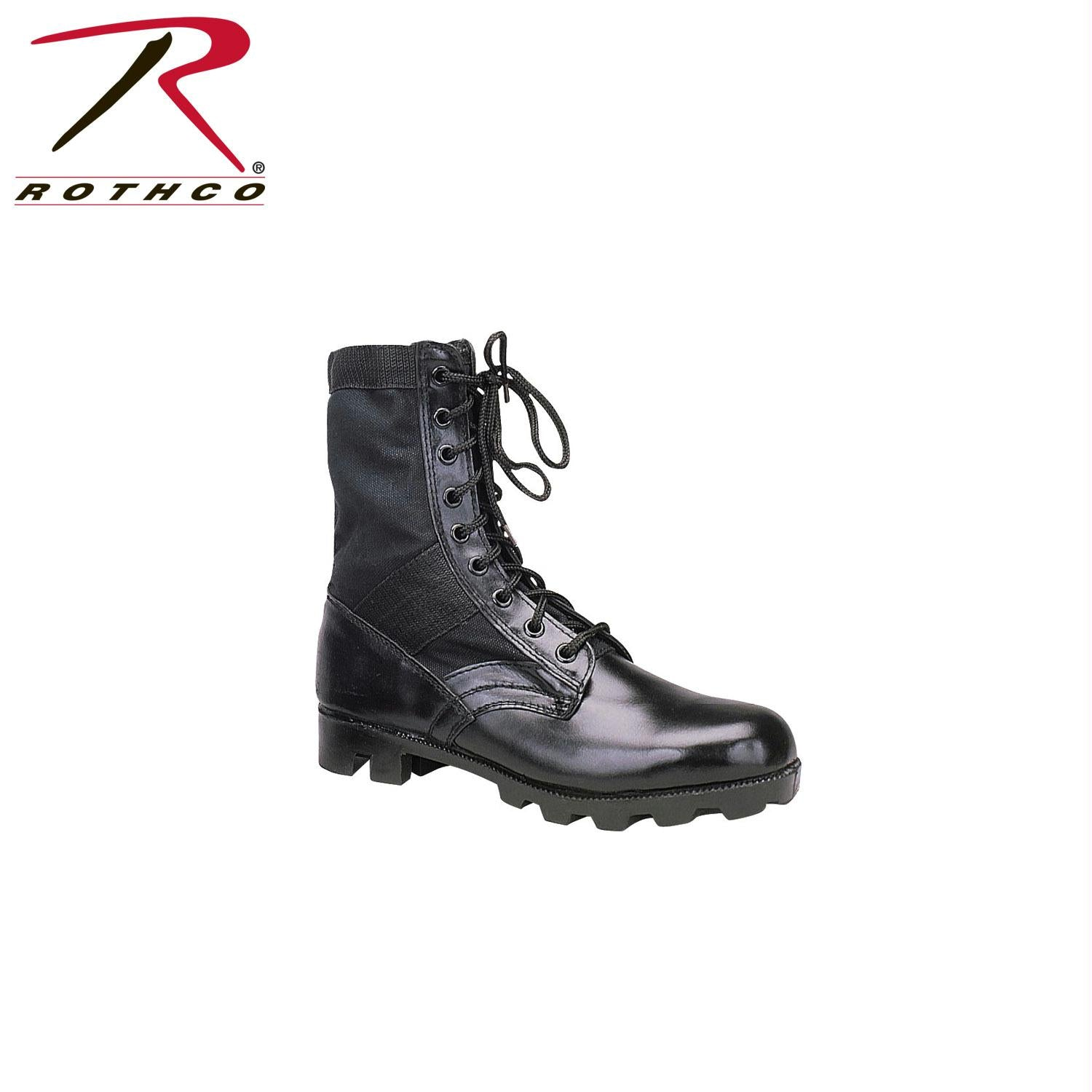 Rothco G.I. Type Black Steel Toe Jungle Boot - 7
