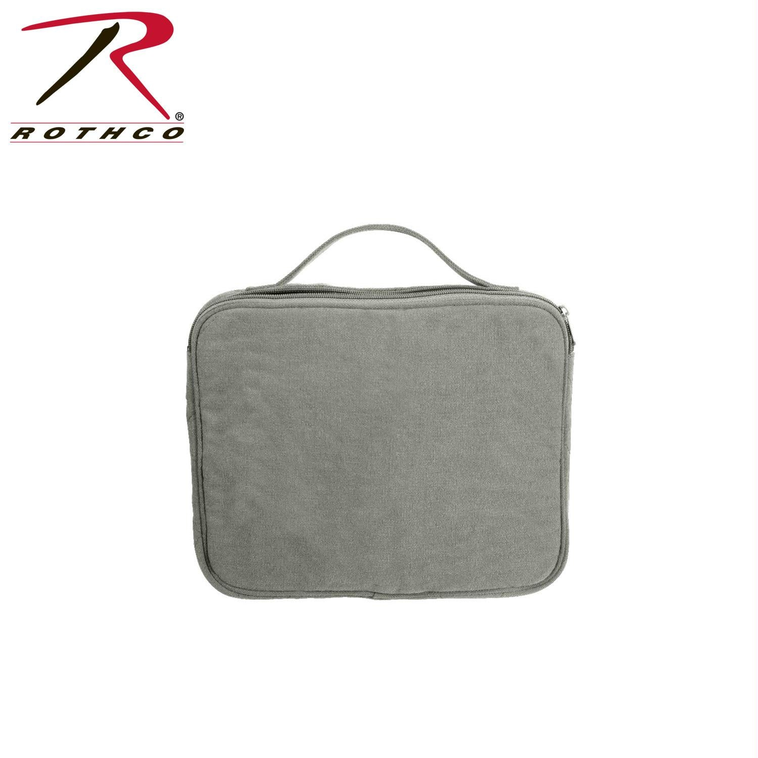 Rothco Vintage Canvas iPad / Netbook Pouch - Vintage Olive Drab