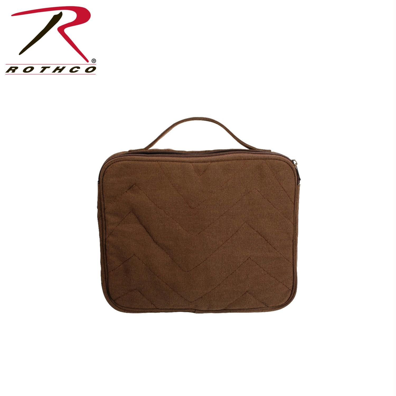 Rothco Vintage Canvas iPad / Netbook Pouch - Brown