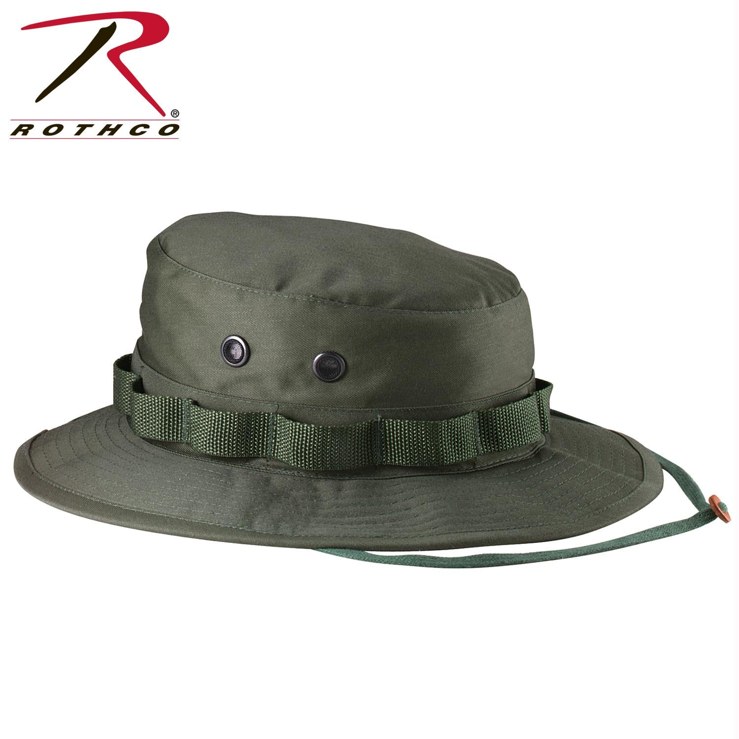 Rothco 100% Cotton Rip-Stop Boonie Hat - Olive Drab / 7