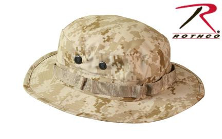 Rothco Digital Camo Boonie Hat - Desert Digital Camo / 7 1/4