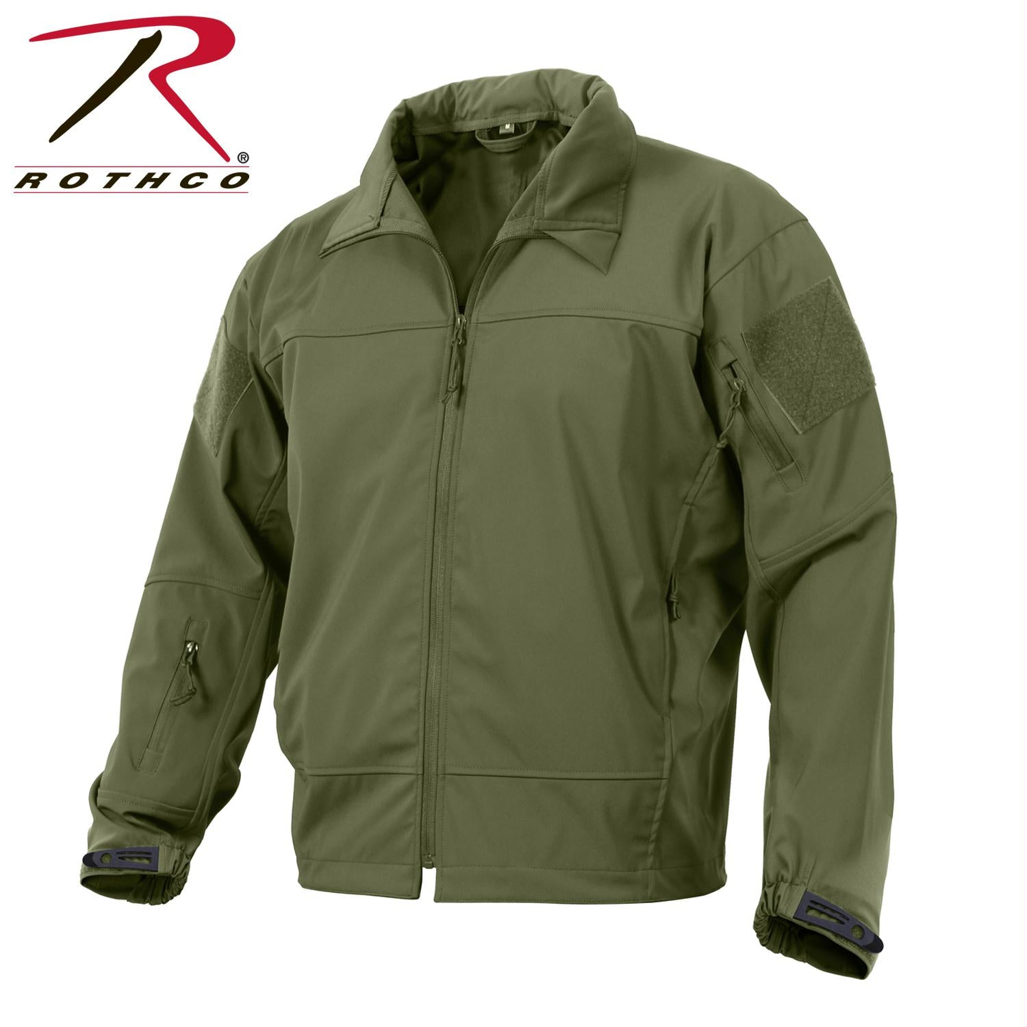 Rothco Covert Ops Light Weight Soft Shell Jacket - Olive Drab / XL
