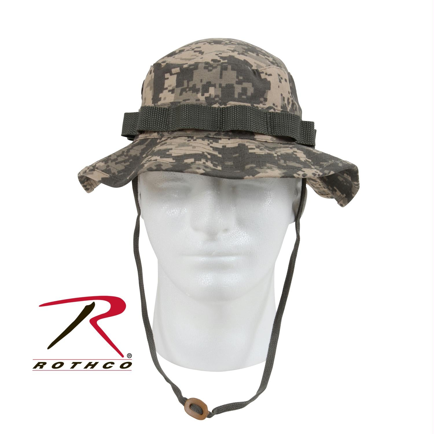 Rothco Digital Camo Boonie Hat - ACU Digital Camo / 6 3/4