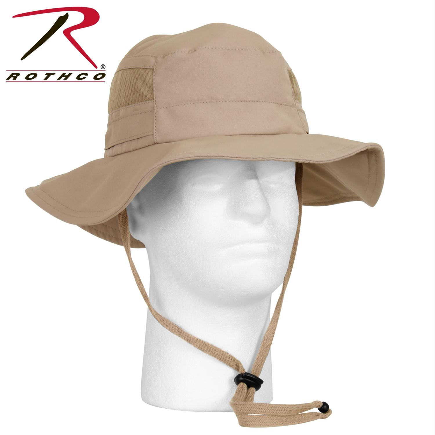 0e19da394ed Rothco Lightweight Adjustable Mesh Boonie Hat - Wholesale Army Navy