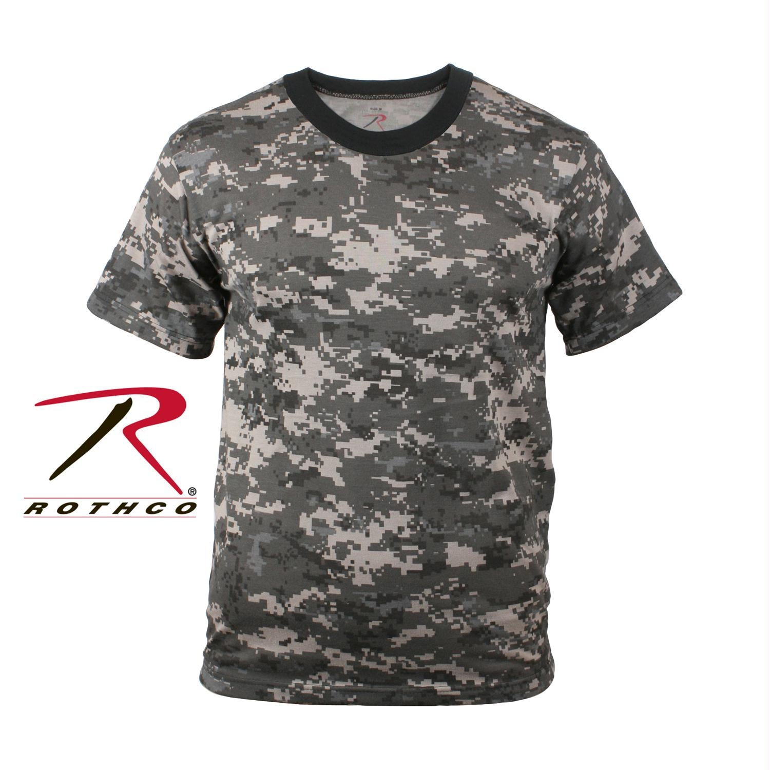 Rothco Digital Camo T-Shirt - Subdued Urban Digital Camo / L