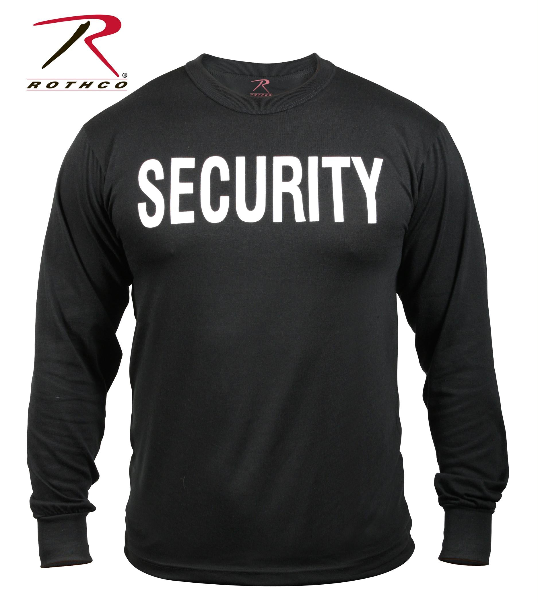 Rothco 2-Sided Security Long Sleeve T-Shirt - 3XL
