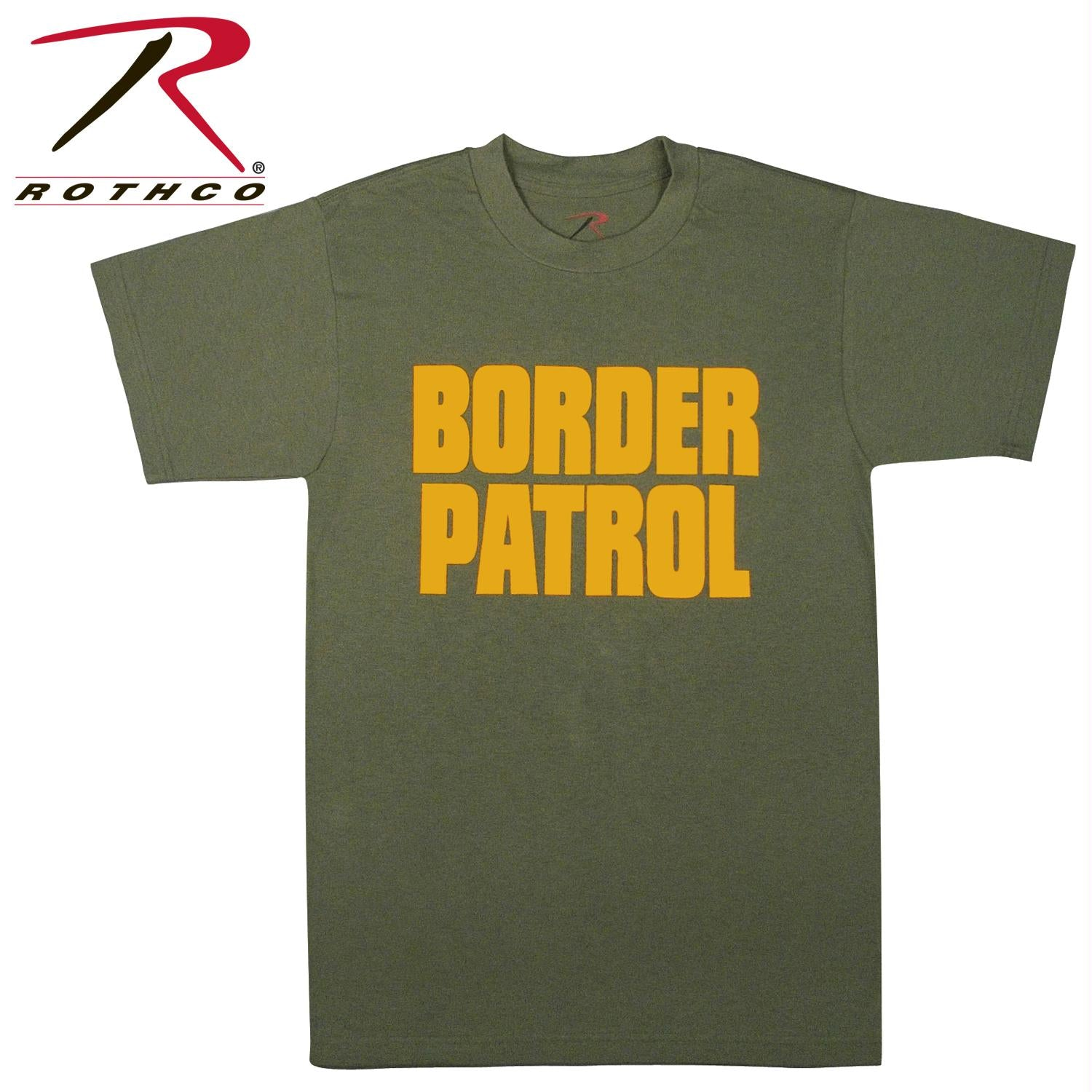 Rothco 2-Sided Border Patrol T-Shirt - M