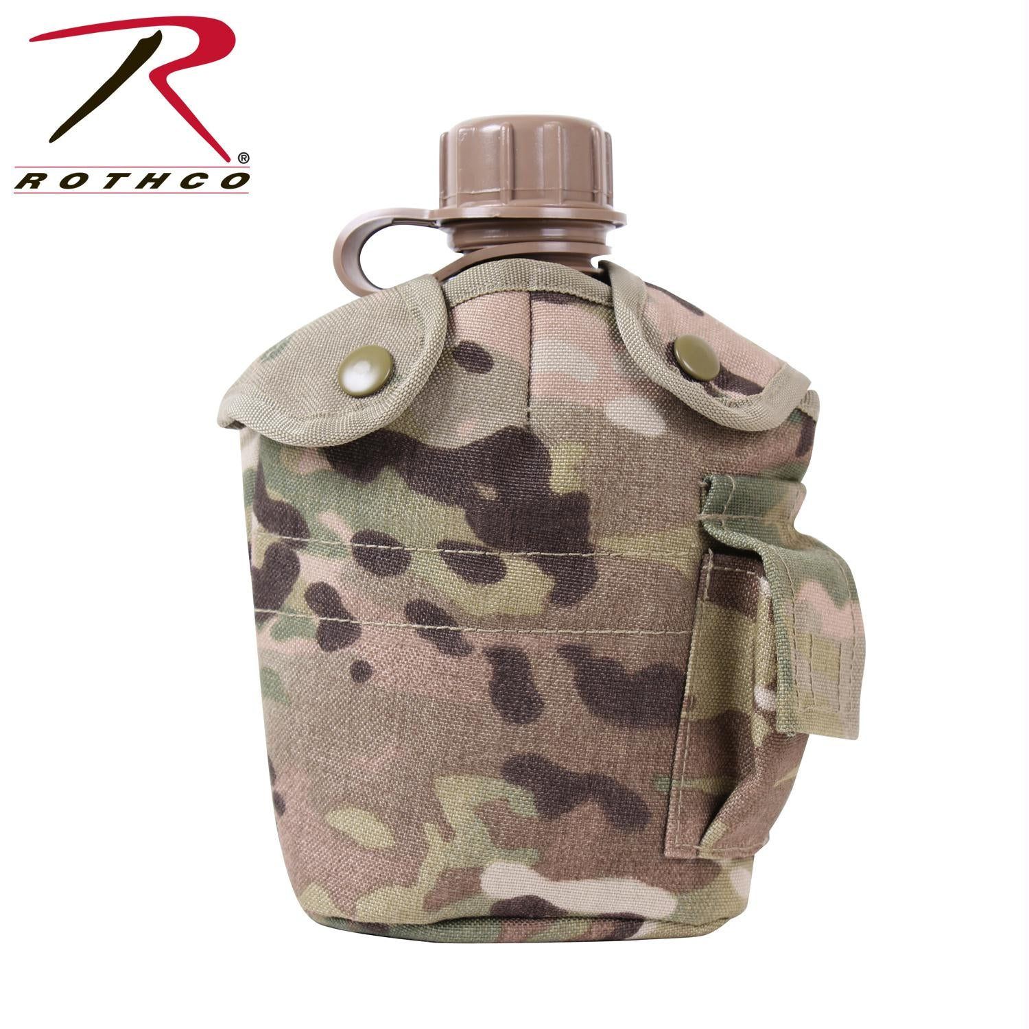 Rothco GI Style MOLLE Canteen Cover - MultiCam