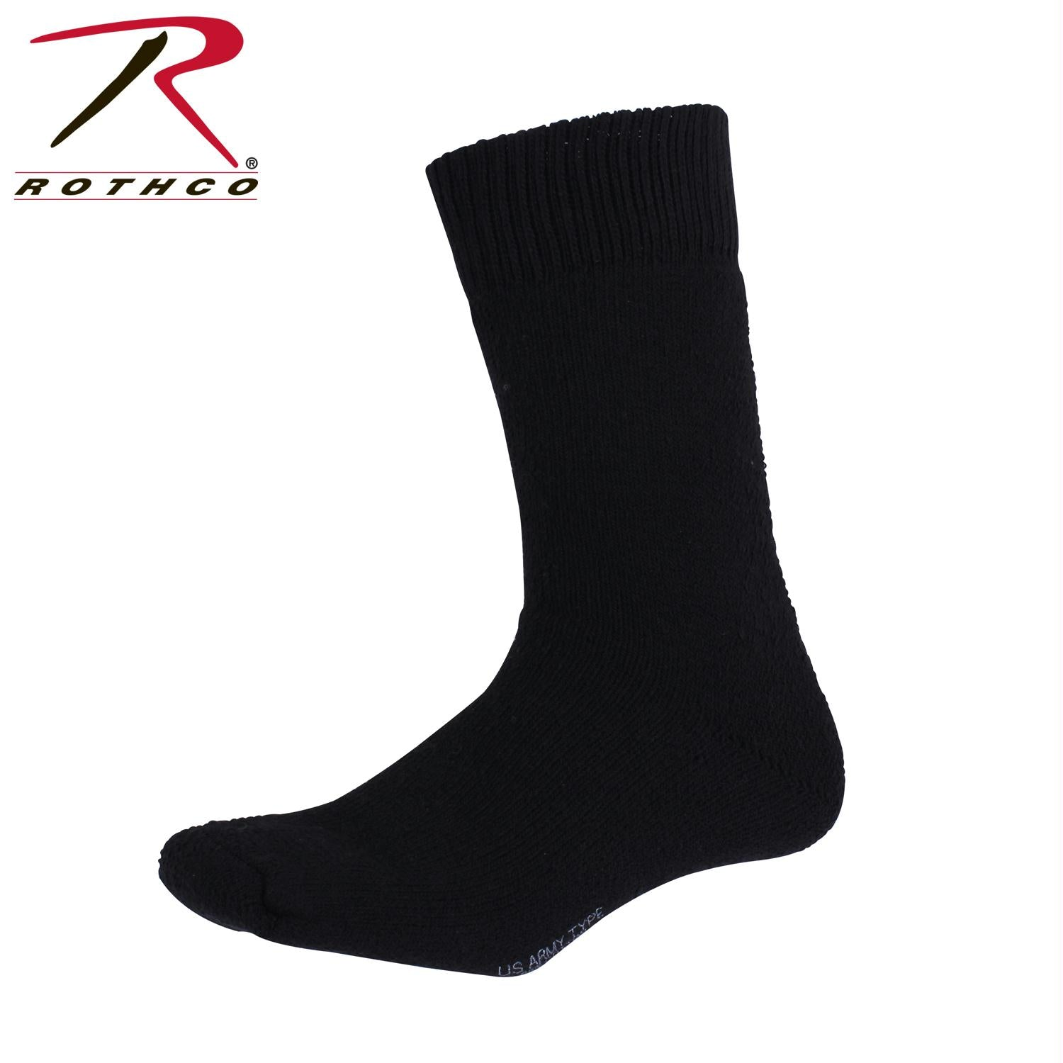 Rothco Thermal Boot Socks - Black