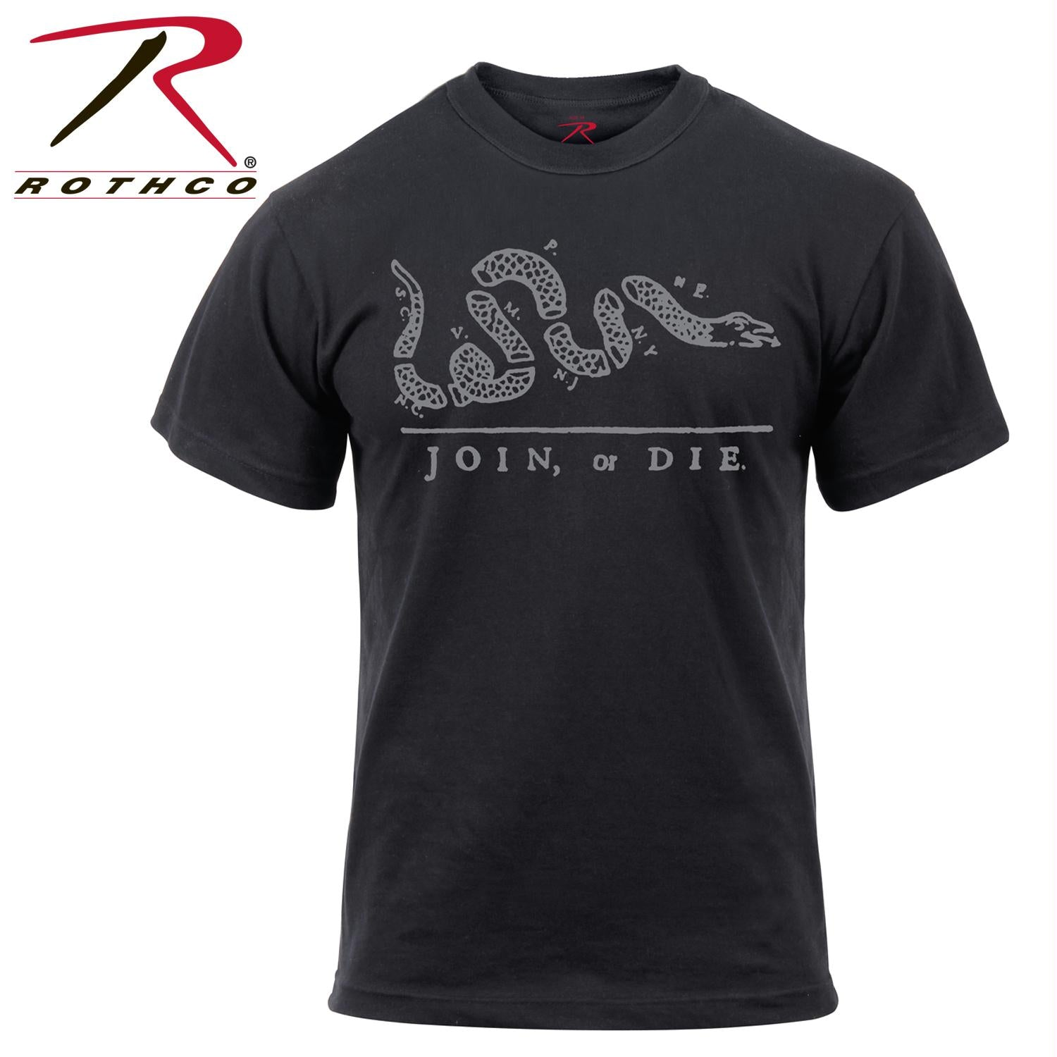 Rothco 'Join or Die' T-Shirt - XL