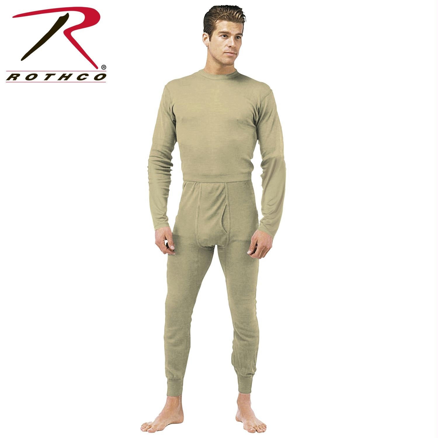 Rothco Gen III Silk Weight Underwear Top - Desert Sand / M