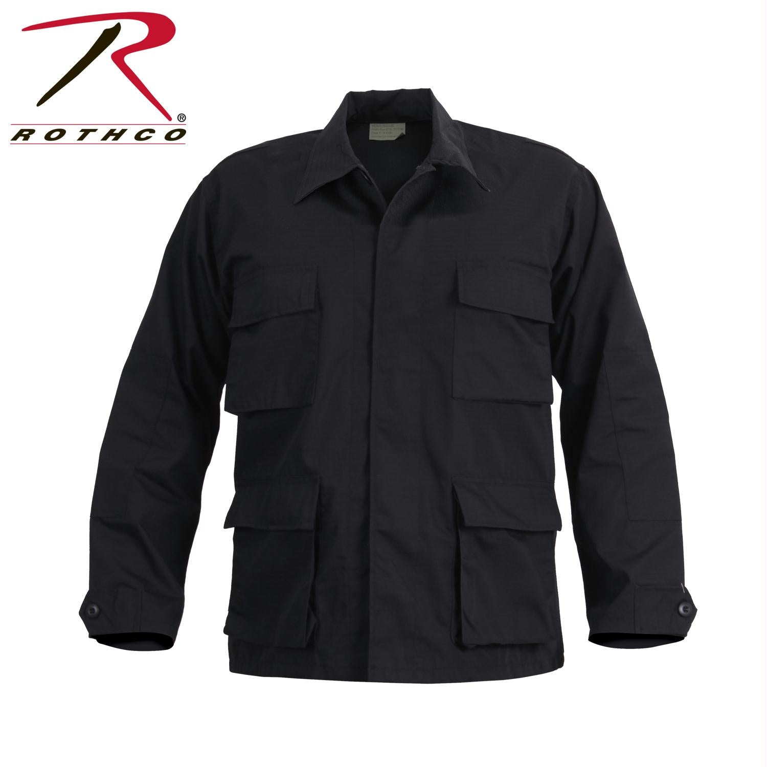 Rothco SWAT Cloth BDU Shirt - Black / S