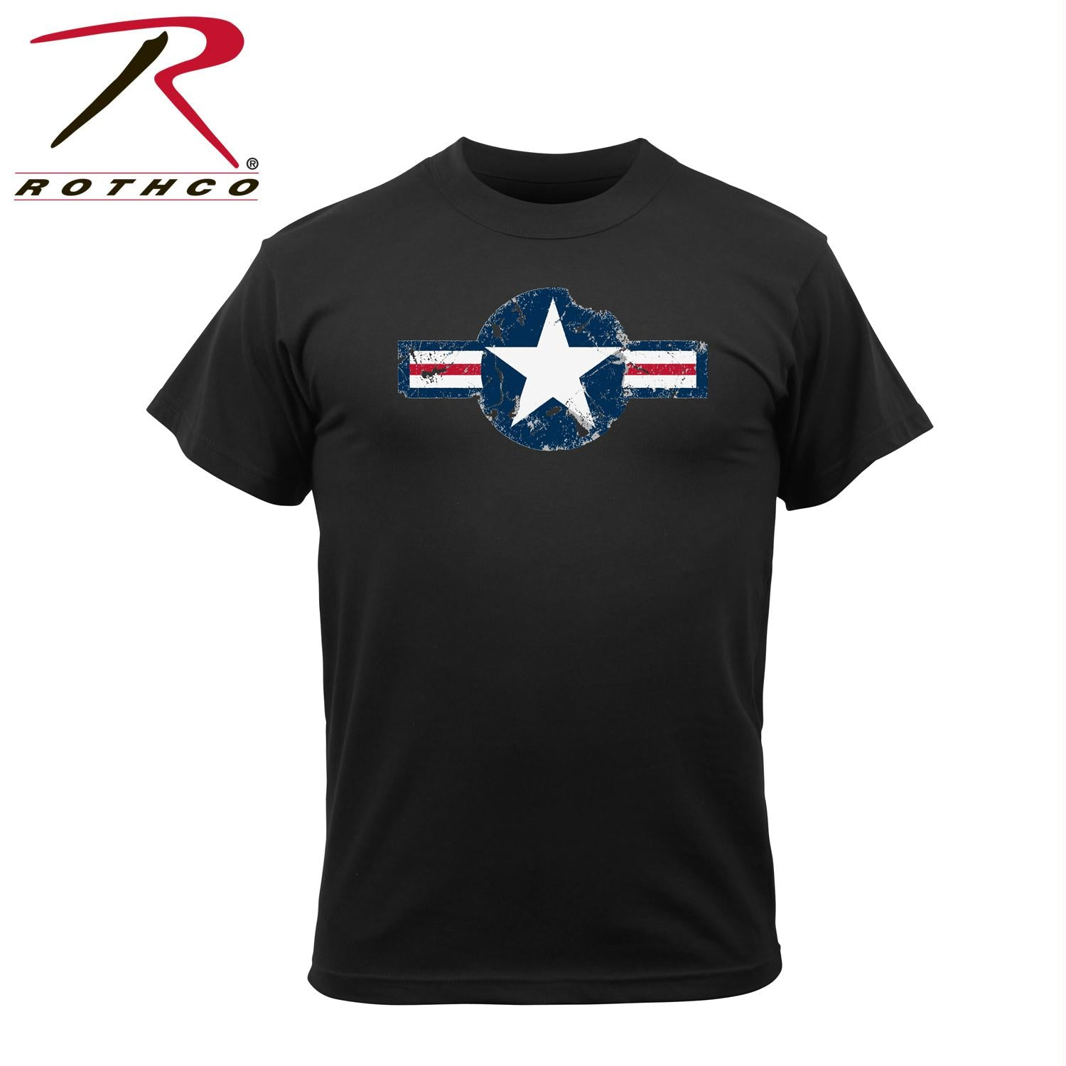 Rothco Vintage Army Air Corps T-Shirt - Black / S