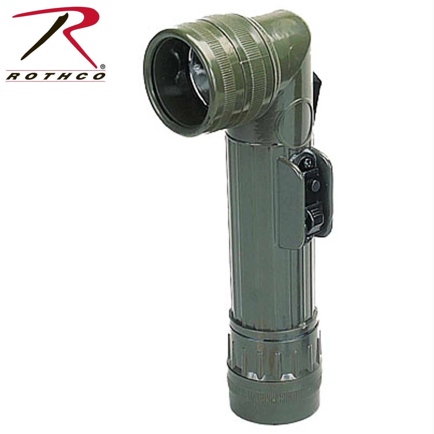 Rothco G.I. Type D-Cell Flashlights - Olive Drab