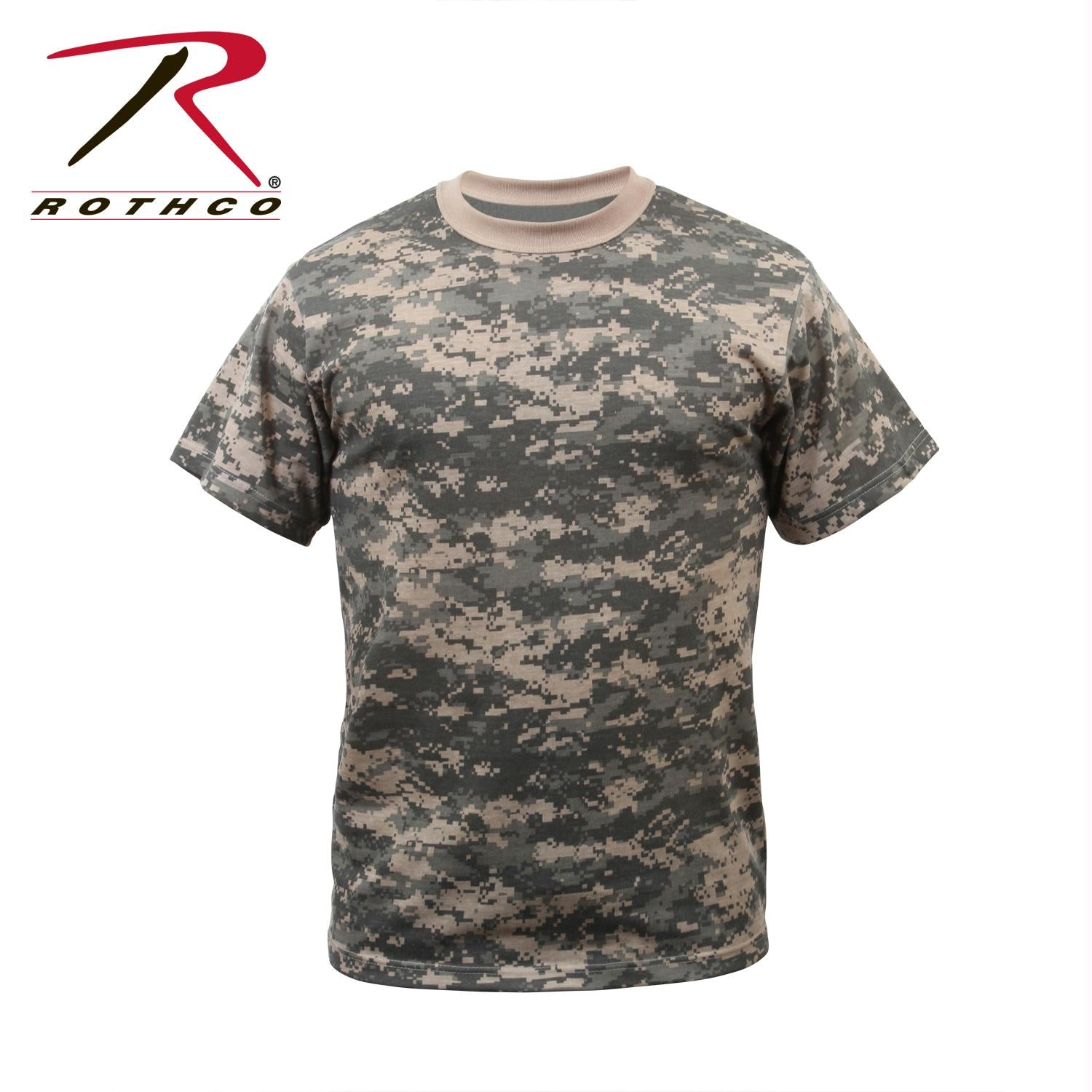Rothco Digital Camo T-Shirt - ACU Digital Camo / XL