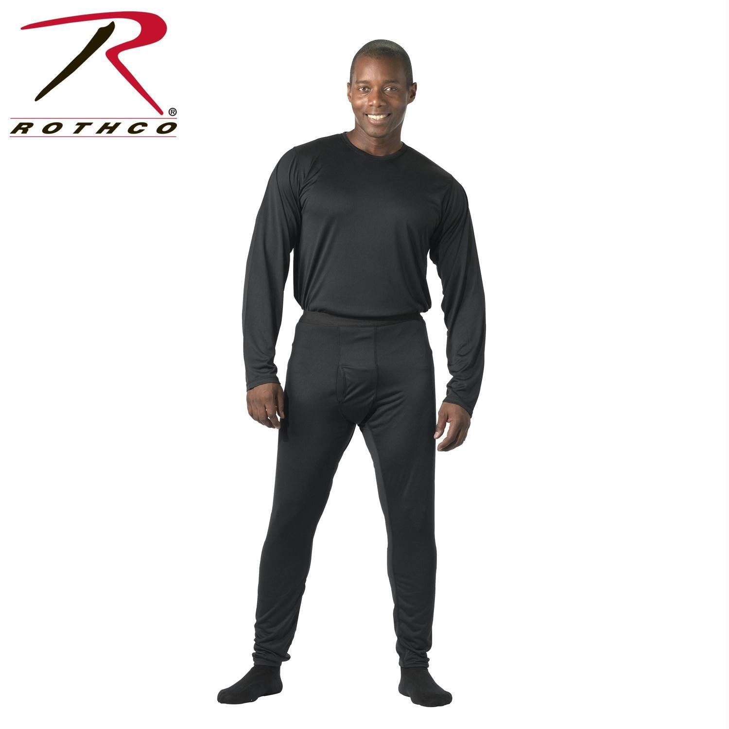 Rothco Gen III Silk Weight Underwear Top - Black / 3XL