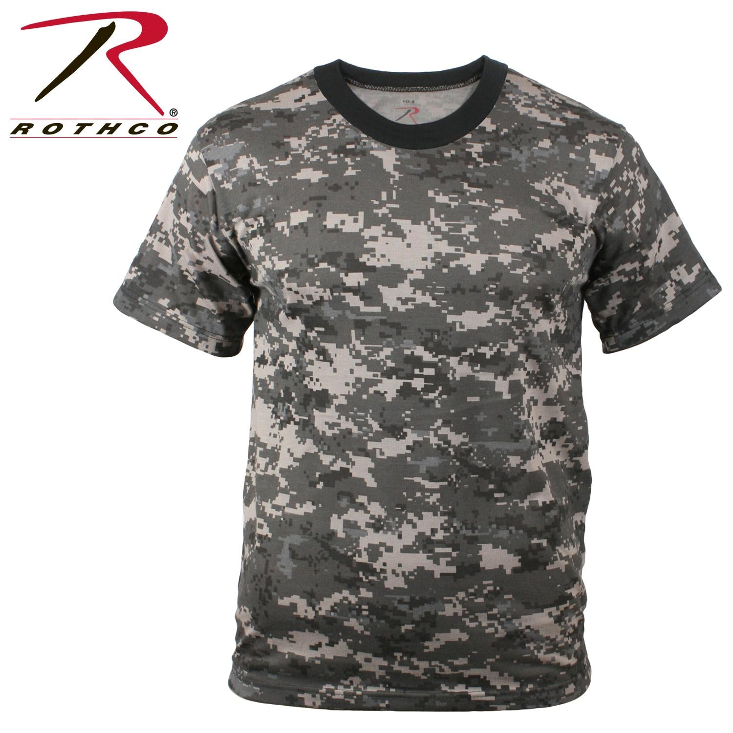 Rothco Kids Digital Camo T-Shirt - Subdued Urban Digital Camo / XS