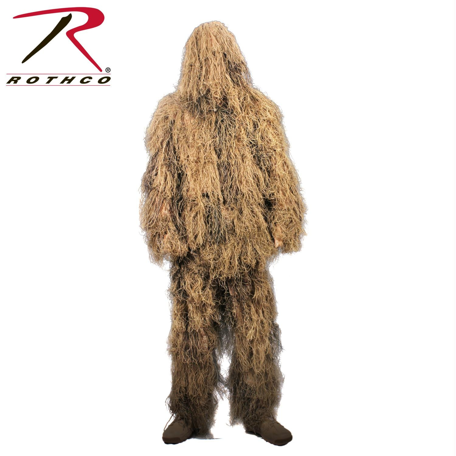 Rothco Lightweight All Purpose Ghillie Suit - Desert Tan / XL / 2XL