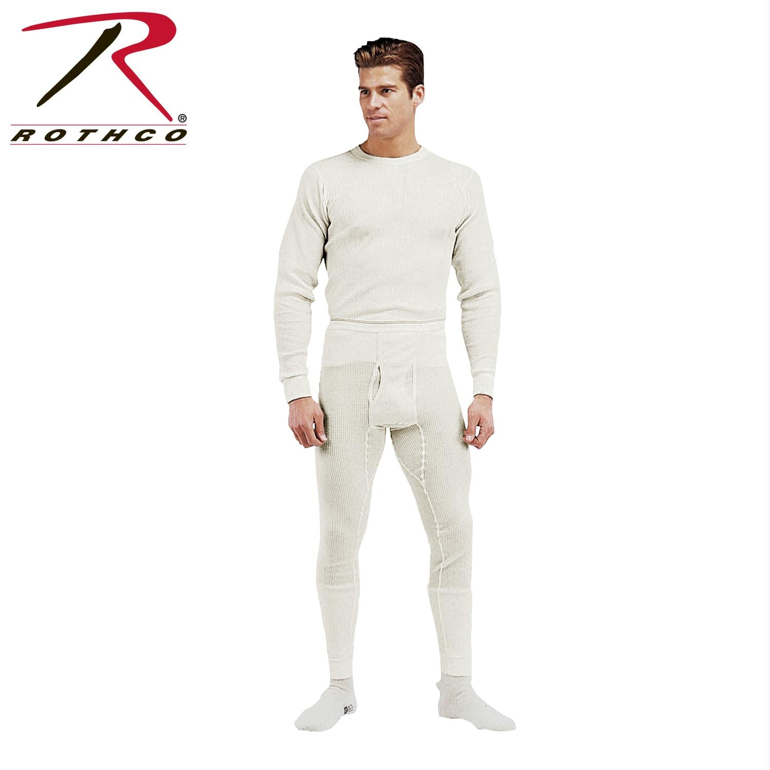 Rothco Thermal Knit Underwear Bottoms - Natural / M