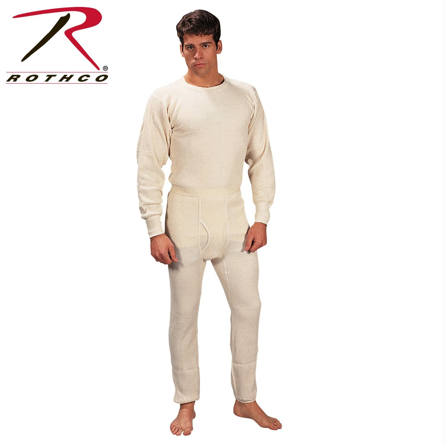 Rothco Extra Heavyweight Thermal Knit Bottoms - 2XL