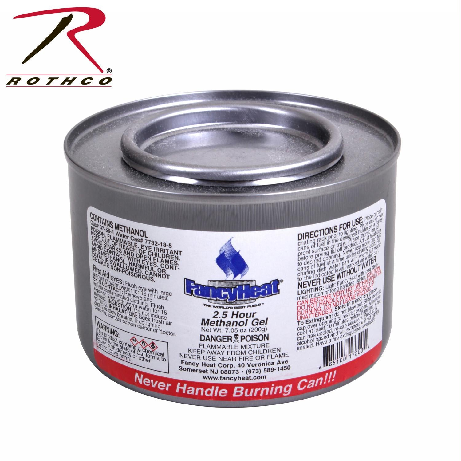 7 oz. Canned Cooking Fuel