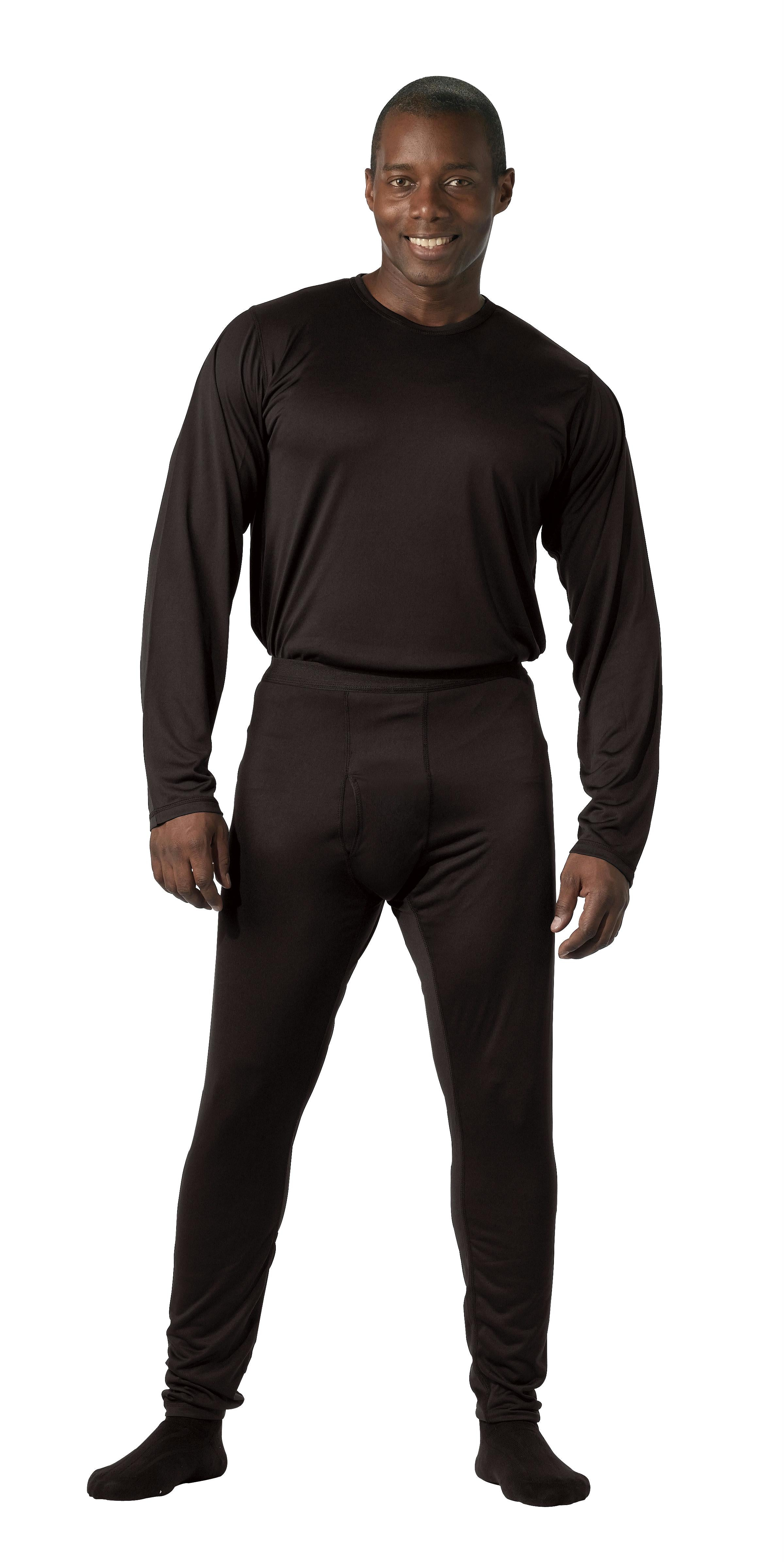 Rothco Gen III Silk Weight Bottoms - Black / S