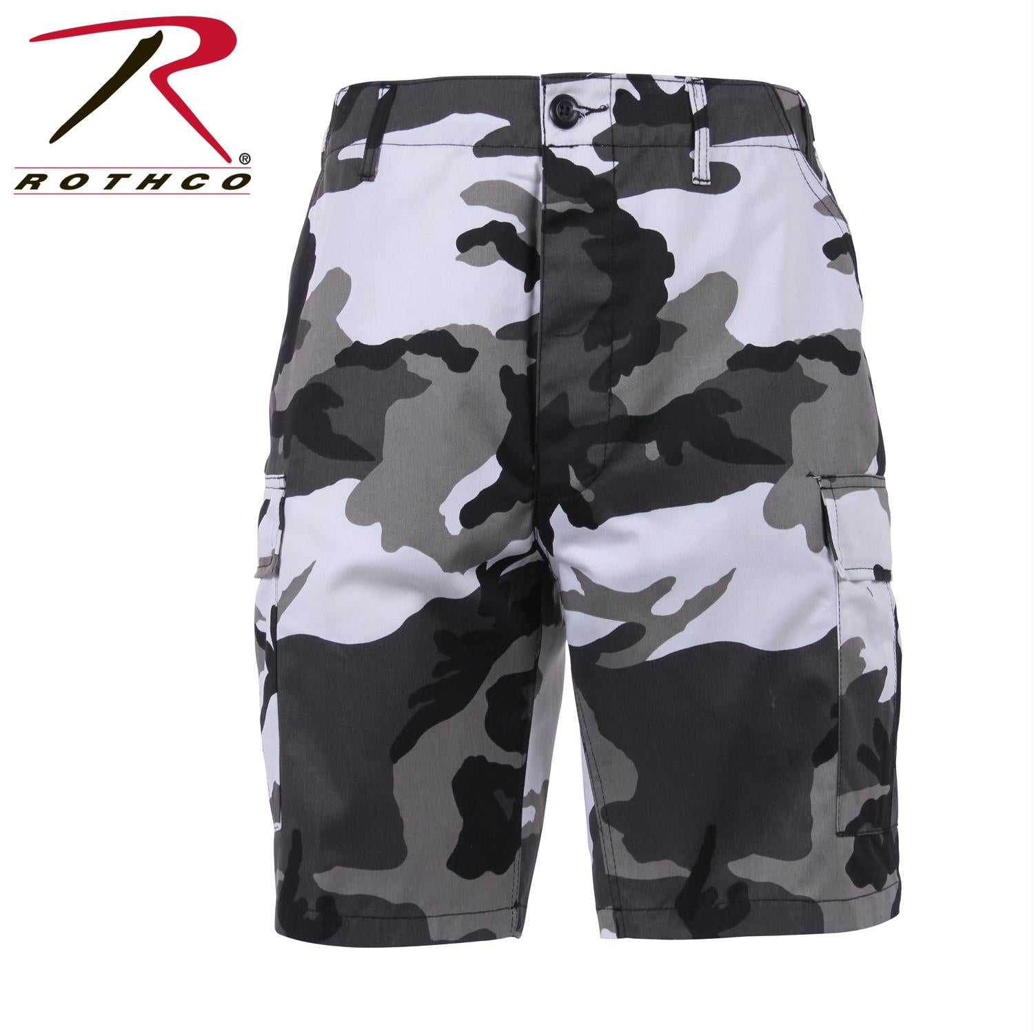 Rothco Colored Camo BDU Shorts - City Camo / 2XL