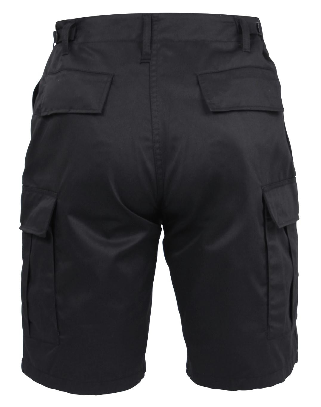 Rothco BDU Shorts - Black / 2XL