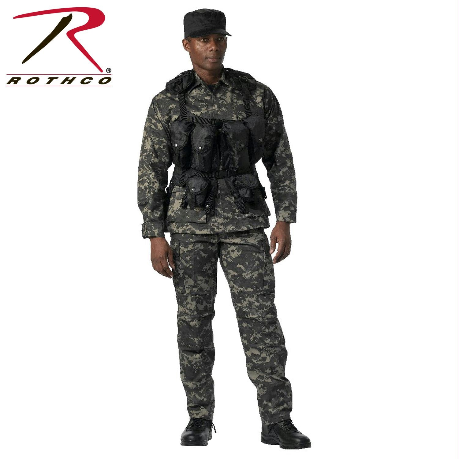 Rothco Tactical Assault Vest - Black