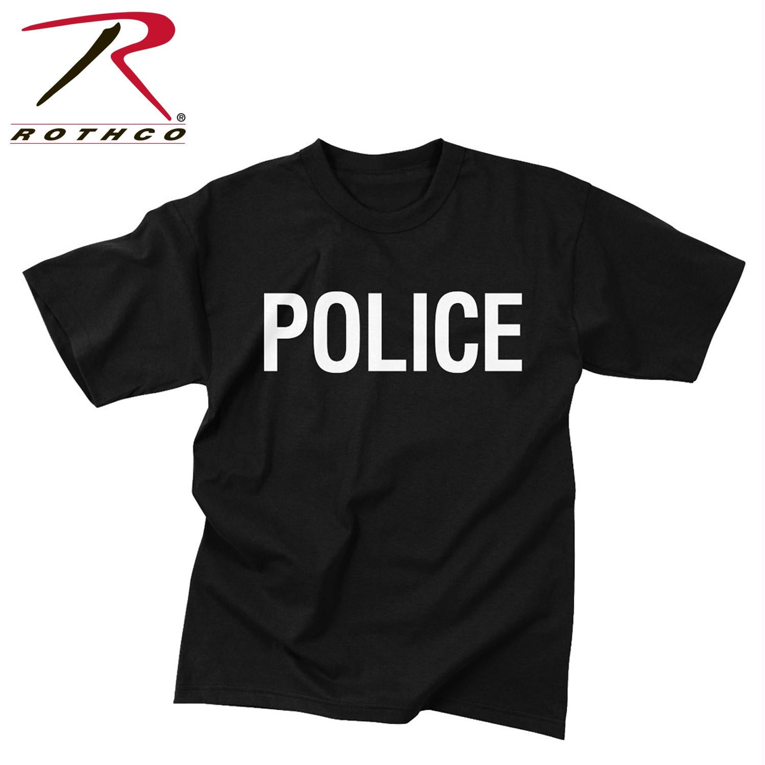 Rothco 2-Sided Police T-Shirt - L