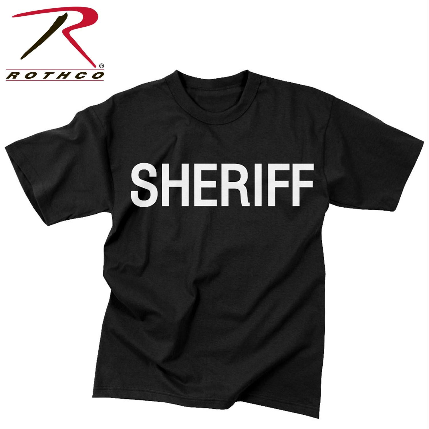 Rothco 2-Sided Sheriff T-Shirt - S
