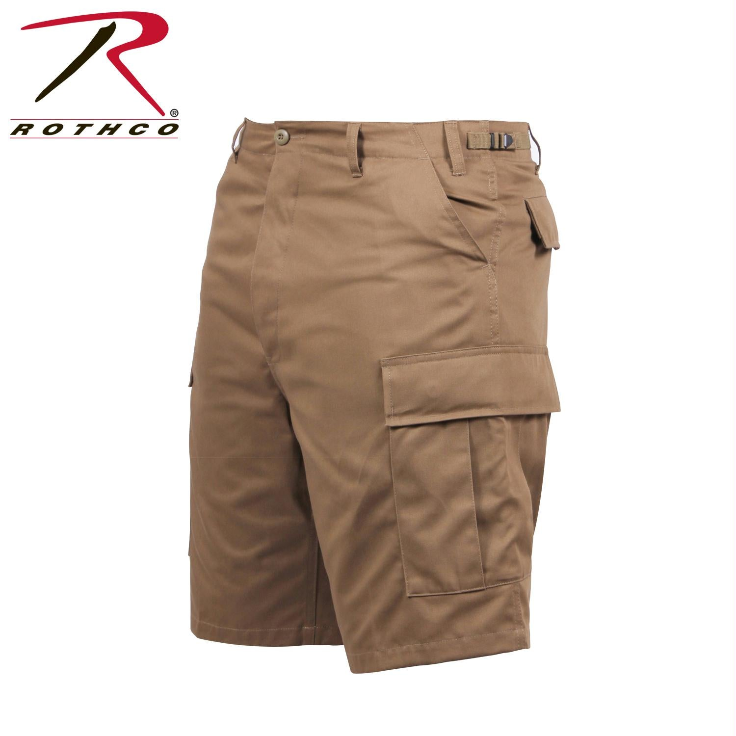 Rothco BDU Shorts - Coyote Brown / S