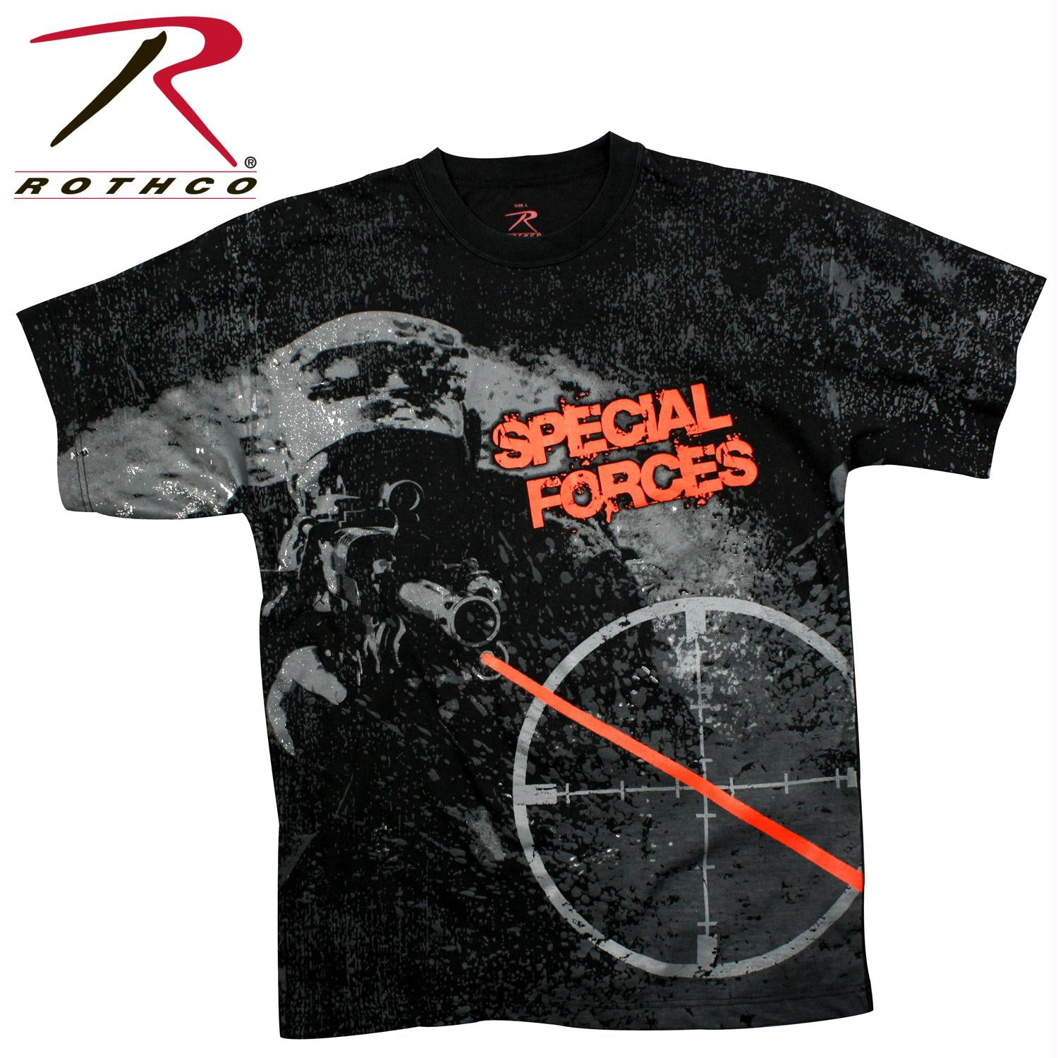 Rothco Vintage 'Special Forces' T-shirt - XL