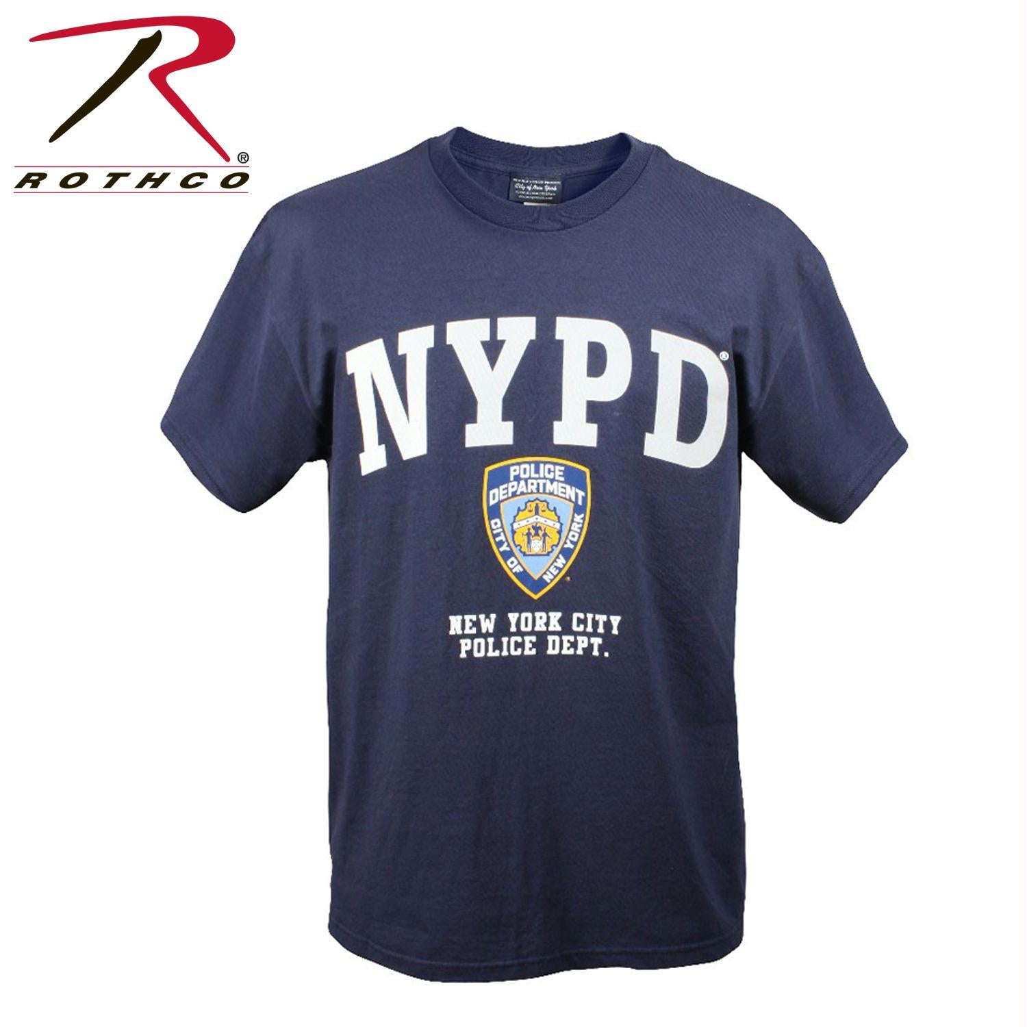 Officially Licensed NYPD T-shirt - L