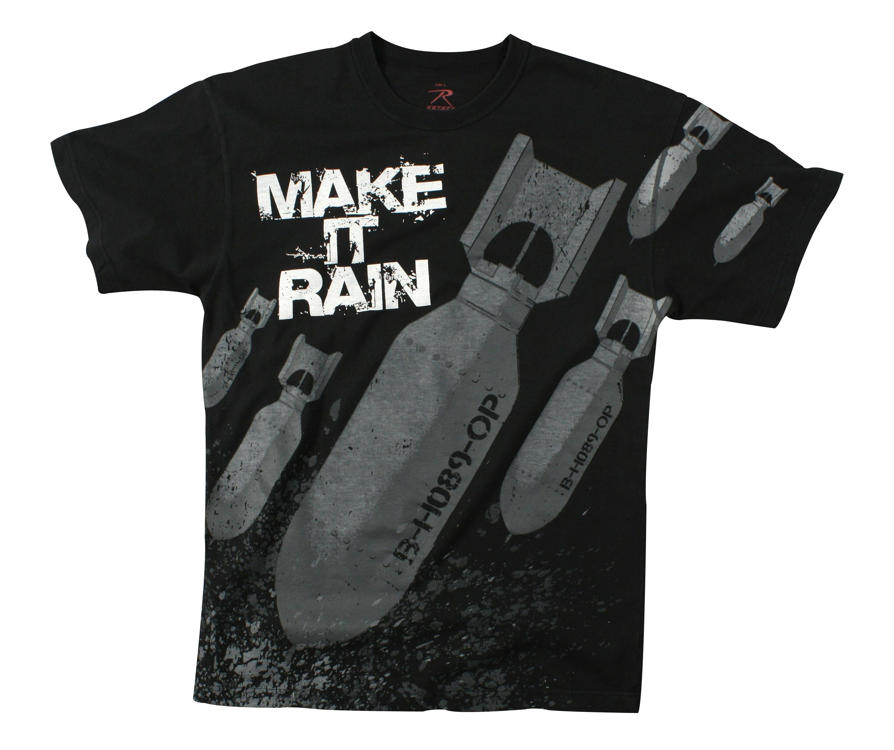 Rothco Make It Rain Bombs T-shirt - 2XL