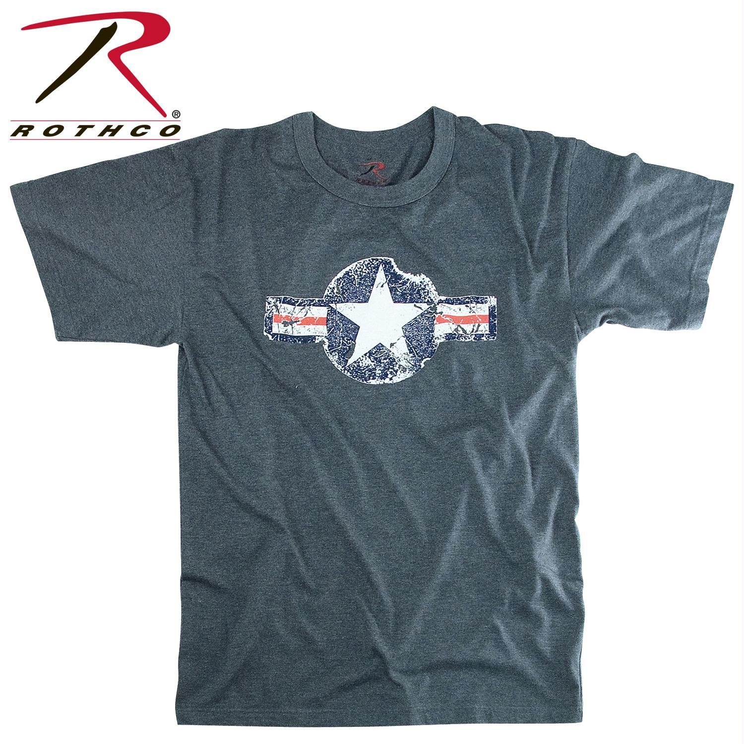 Rothco Vintage Army Air Corps T-Shirt - Blue / 2XL