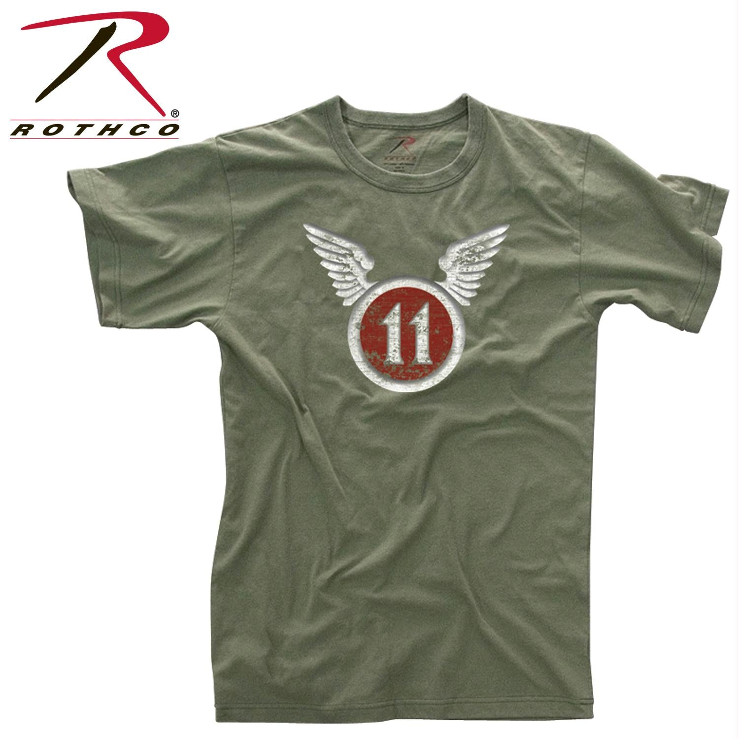 Rothco Vintage ''11th Airborne'' T-Shirt - 2XL