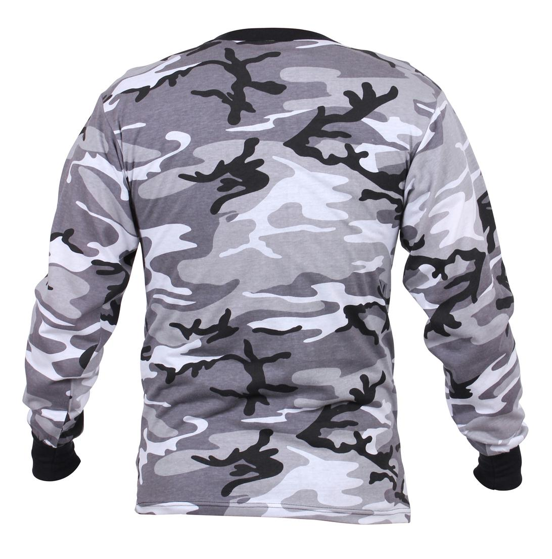 Rothco Long Sleeve Camo T-Shirt