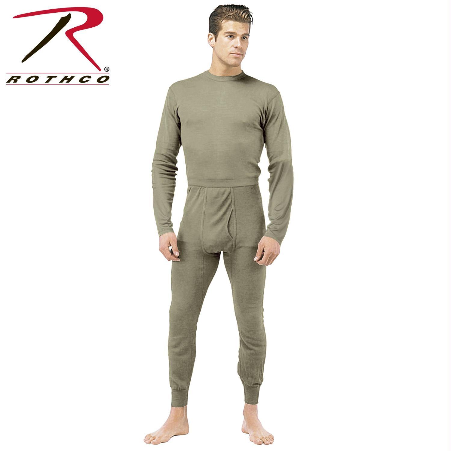 Rothco Gen III Silk Weight Underwear Top - Foliage Green / S